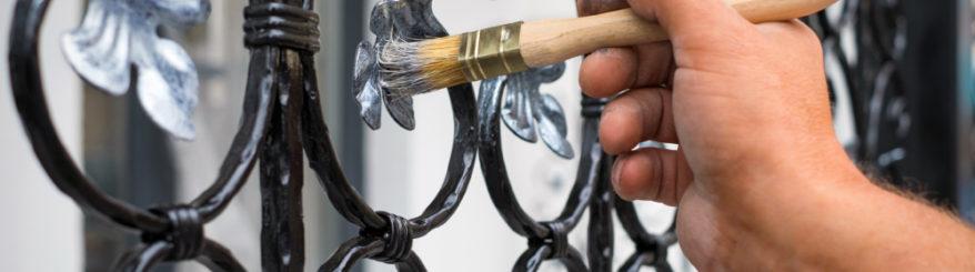Três dicas preciosas para pintura em metais