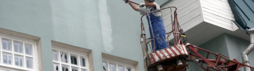 Quais tintas usar na pintura externa de casa?